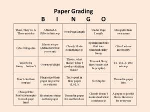 grading-bingo