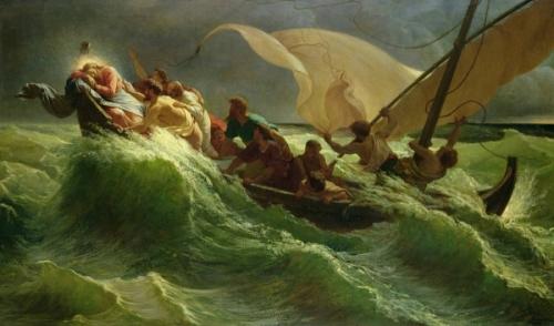 christ-asleep-in-his-boat-jules-joseph-meynier